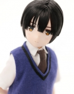 Лимитированная кукла Hetalia The World Twinkle — Japan — Asterisk Collection Series #004 — 1/6 — W Gakuen Uniform ver.