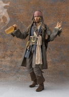 Фигурка Pirates of the Caribbean: Dead Men Tell No Tales — Jack Sparrow — S. H. Figuarts