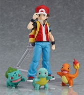 Фигурка Figma — Pocket Monsters — Fushigidane — Hitokage — Pikachu — Red — Zenigame