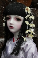 Кукла Trinity Doll — Snow Flower ; White Jude — LE10 (e), (высота 105 см), фулсет