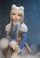 Кукла Lusion Doll - Happy Winter ; Dahlia - LE10-e, (высота 79 см), фулсет