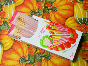 Поки Glico Tsubu Tsubu Strawberry Pocky