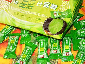 Мягкая карамель с зелёным чаем маття Morinaga Matcha Caramel Bag