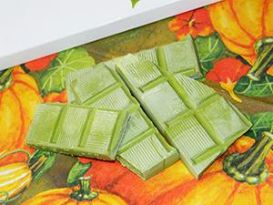 Зеленый шоколад Okasi с чаем маття